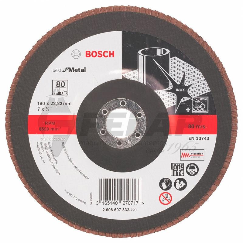 Flap Disc Bosch Reto 7 #80