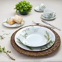 Jogo de Jantar em Porcelana 42 Pecas Herbes - Wolff 31017243