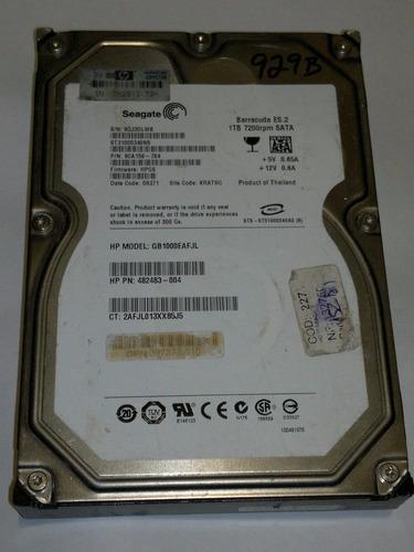 Placa Logica Hd 1 Tb St31000340ns Fw Hpg6 Cod. 929b Original