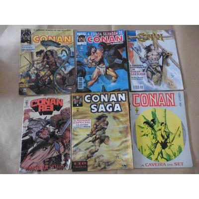Lote 6 Hq Conan em São Paulo