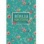 Bíblia Nvi Leitura Perfeita Capa Flores, Letra Grande, Co