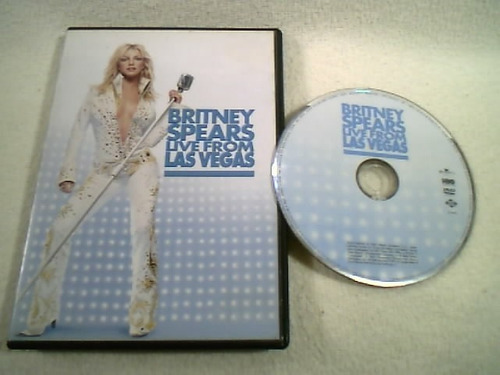 Dvd   /  Britney Spears - Live From Las Vegas - 2002 Original