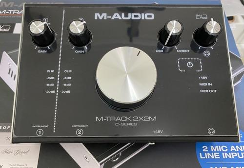 M-audio M-track 2x2m Usb Audio/midi Interface (zerada) Original