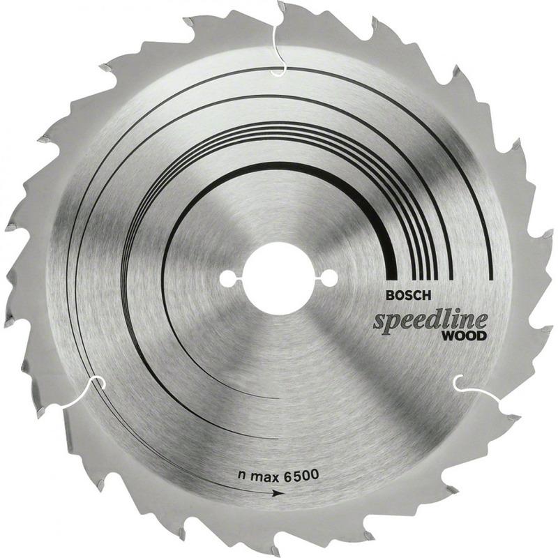 Disco de Serra Speedline 7.1/4 - 20 Dentes - Bosch