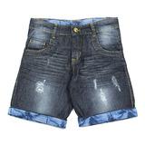 Bermuda Jeans Ser Garoto