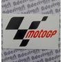 Adesivo Moto Gp Bandeira Motogp Borda Branca 12x7cm