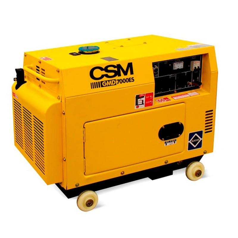 Gerador Diesel GMD-7000ES Monof. 127V/220V-CSM