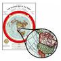 Mapa Do Gleason 60cmx84cm Terra Plana Para Fazer Quadro