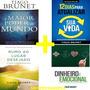 Kit Tiago Brunet 4 Livros Rumo Ao Lugar Desejado E Mais