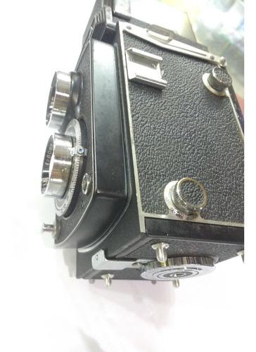 Máquina Fotográfica Camera Yashica - A De 1959 Rara Original