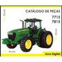 Catálogo De Peças Trator John Deere 7715 E 7815
