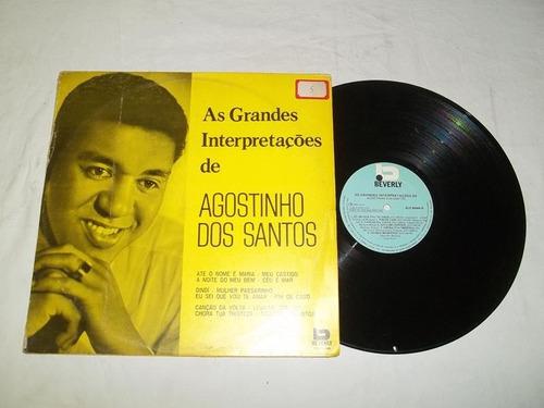 Lp Vinil - As Grandes Interpretações De Agostinho Dos Santos Original
