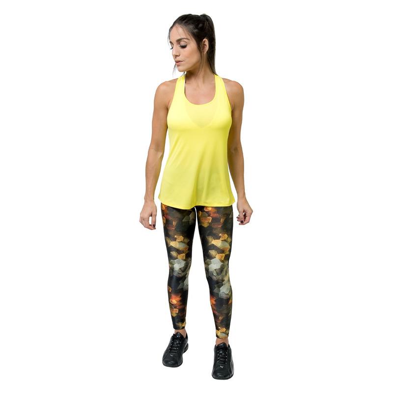 Legging Bolso Lycra/Gloss Luminária