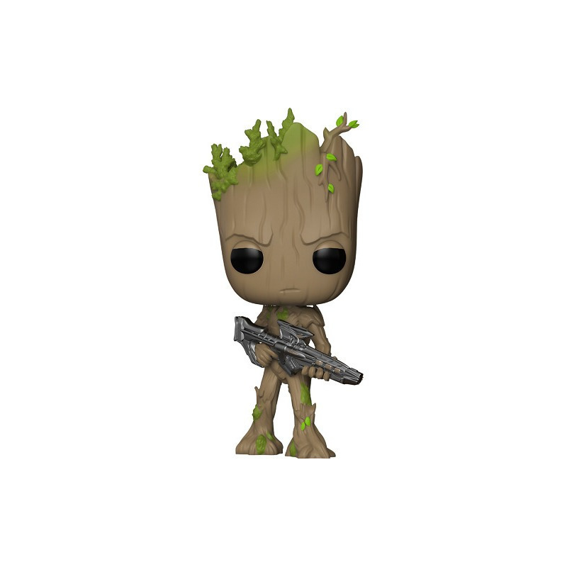 Groot With Blaster Pop Funko #293 - Vingadores Guerra Infinita - Marvel