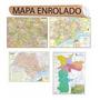 4 Mapa São Paulo Estado Centro Grande Sp Cidade Combo