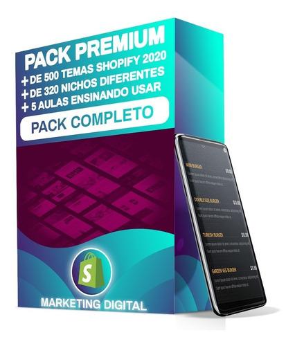 Pack Com Os 500 Temas Shopify Mais Vendidos No Ano De 2020 Original