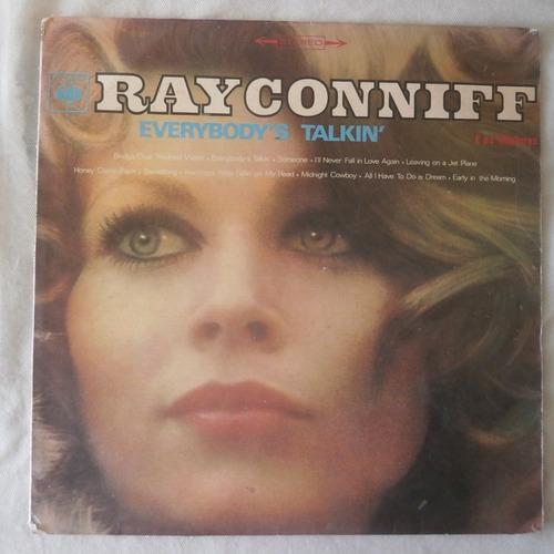 Lp Ray Conniff 1970 Everybody`s Talkin`, Disco De Vinil Original