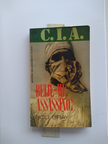 Bolsilivro - Beije-me Assassino! - Rod Gray - Cia Original