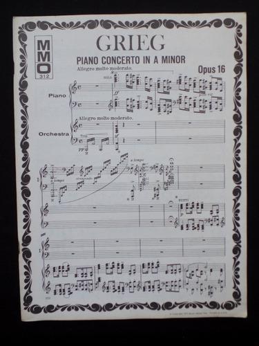 Grieg - Piano Concerto In A Minor - Opus 16 Original