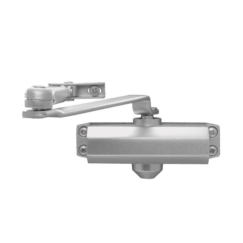 Mola Hidráulica Aérea para Portas Madeira e Metal 850mm 45Kg - MA100/2 - Dorma - Prata