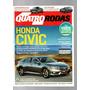Revista Quatro Rodas Honda Civic Nº678