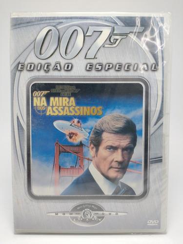 Dvd Filme 007 Na Mira Dos Assacinos ( Roger Moore ) Original