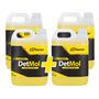 Kit 4 Shampoo Detmol 5 Litros Sandet Desengraxante 1/100