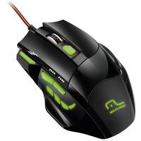 Mouse Gamer 3 Velocidades  7 Botões e Disparo Triplo Multilaser - MO208