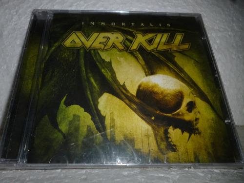 Cd Over Kill Immortalis 2007 Br Lacrado Original
