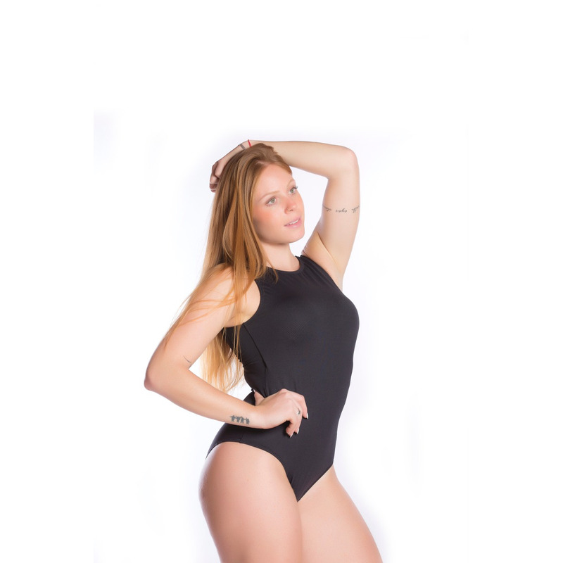 Body Top Interno Light Preto/Branco