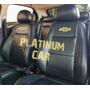 Capa Banco Carro 100% Couro Chevrolet Capa De Volante
