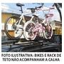 Kit 2 Calhas Transporta Bike Braço Longo P Aro 29 Mr620