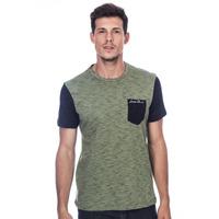 Camiseta Long Island Plus Size BS Verde