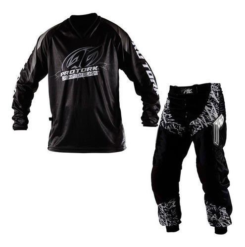 Conjunto Roupa Calça Camisa Motocross Trilha Pro Tork Insane Original