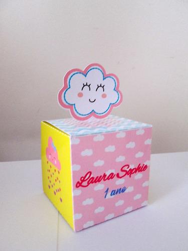 Caixas Personalizadas Chuva De Amor / Benção (30 Unid) Original