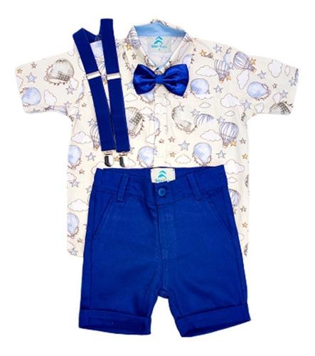 Conjunto Infantil Menino Camisa  Balões