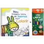 Meu Primeiro Livro De Palavras Para Colorir Lápis De Cor