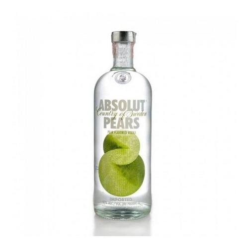 Vodka Absolut Pears 1000ml - Kit 2 Unidades Original