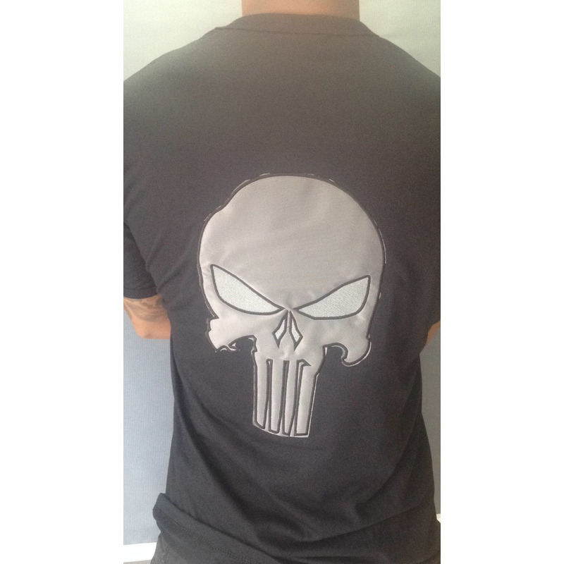 Camisa Justiceiro 2 - Bordada
