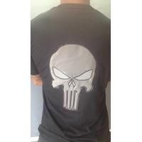 Camisa Justiceiro 2 - Preta  Bordada