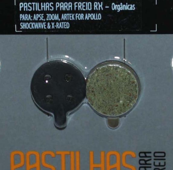 PASTILHA FREIO DISCO APSE / ZOOM