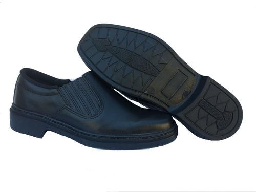 Sapato Para Motorista 100% Couro Solado Antiderrapante.