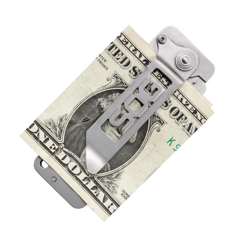 Faca Tática Dobrável Minimalista Cash Card Sog Original
