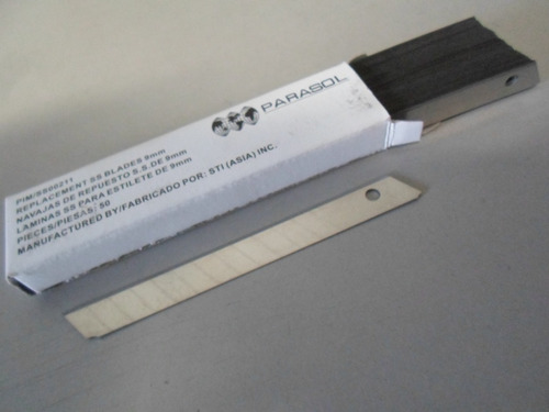 Insulfilm - Laminas P/ Estilete-caixa C/ 50 Unidades Original