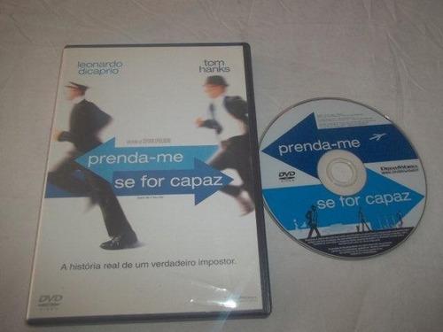 Dvd - Prenda-me Se For Capaz - Leonardo Dicaprio Original