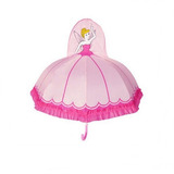 Guarda Chuva Infantil Princesa Com Apito