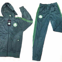 8bf4d52610 Agasalho Do Palmeiras Conjunto Verdão Verde Blusa Calça Novo