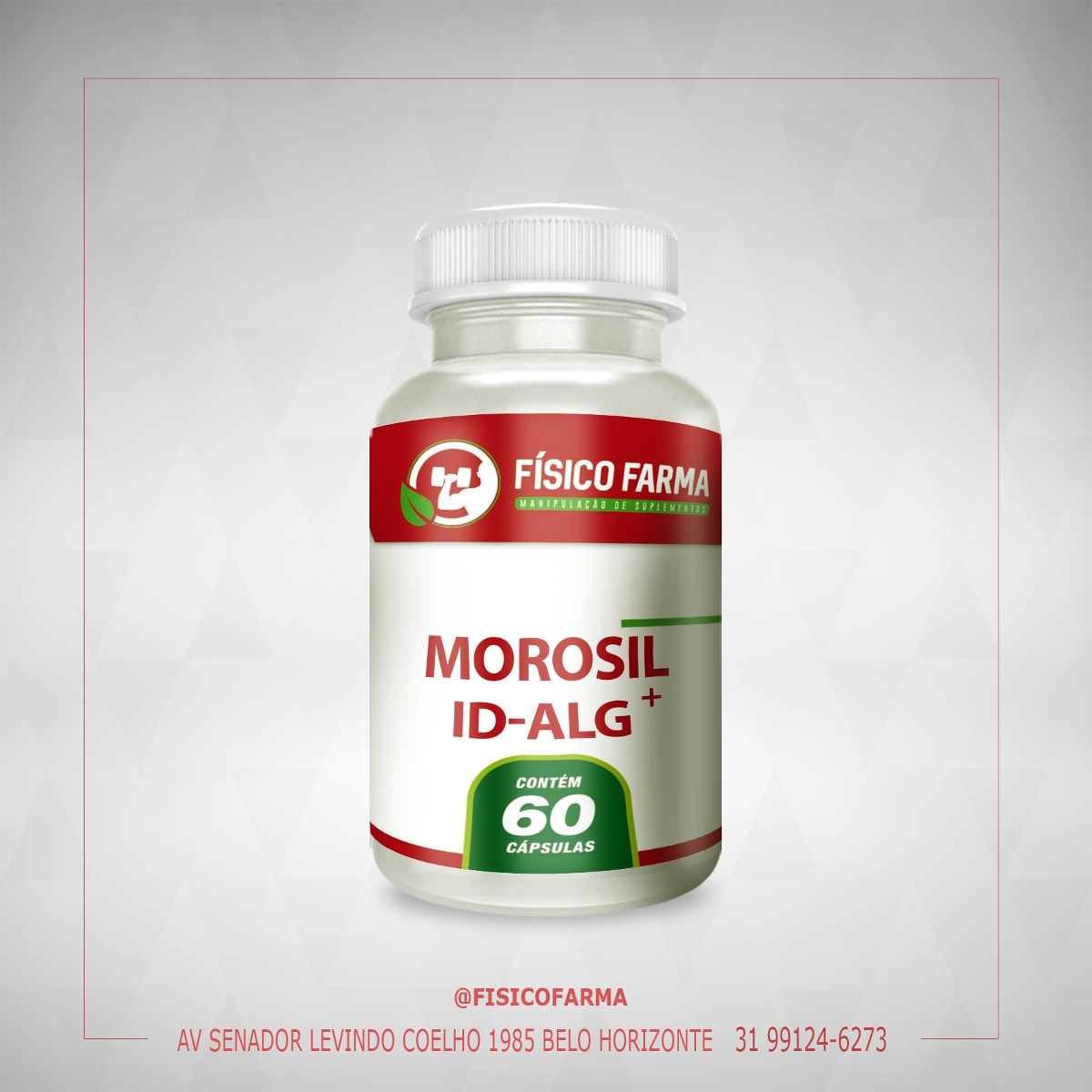 Morosil 300mg + ID Alg 200mg  60 Cápsulas
