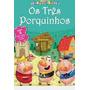 Os Três Porquinhos Livro Quebra cabeça Editora Ciranda Cu