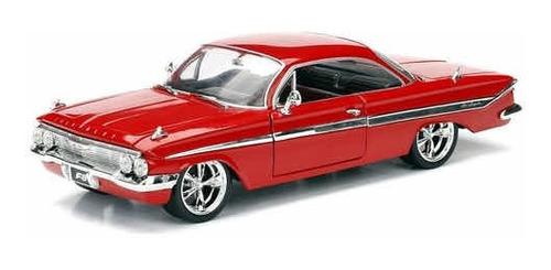 Miniatura 1961 Chevy Impala Dom Velozes E Furiosos 1/24 Original